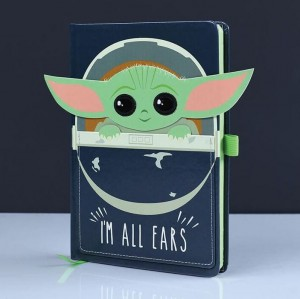 Notatnik Zeszyt Star Wars Baby Yoda I'm All Ears