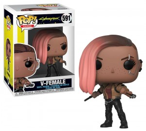 Figurka Cyberpunk 2077 Funko POP! V Female