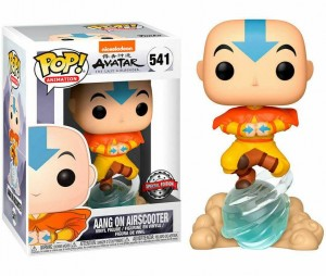 Figurka Avatar The Last Airbender POP! Aang on Airscooter