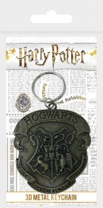 Brelok Harry Potter Hogwart metalowy