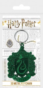 Brelok Harry Potter Slytherin metalowy