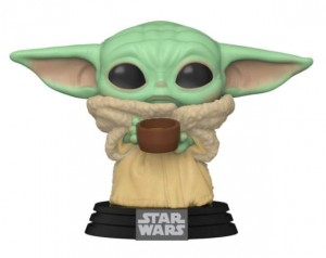 Figurka Star Wars The Mandalorian POP! Baby Yoda Cup