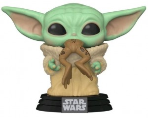 Figurka Star Wars The Mandalorian POP! Baby Yoda Frog
