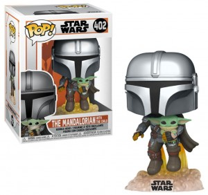 Figurka Star Wars The Mandalorian POP! Mandalorian & Baby Yoda