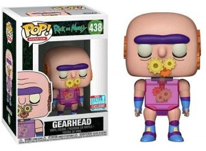Figurka Rick and Morty POP! Gearhead Exclusive