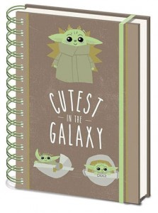 Notatnik Zeszyt Star Wars Baby Yoda Cutest