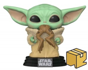 Figurka Star Wars The Mandalorian POP! Baby Yoda Frog *