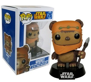 Figurka Star Wars POP! Ewok Wicket