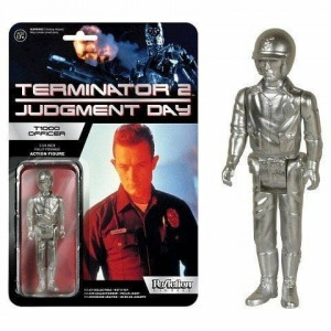 Figurka Funko ReAction Figures Terminator T1000 Officer Silver