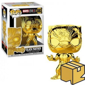 Figurka Marvel Studios 10 POP! Black Panther Chrome *