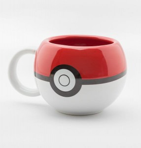 Kubek Pokemon Pokeball 3D