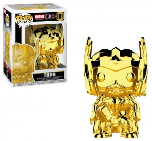 Figurka Marvel Studios 10 POP! Thor Chrome