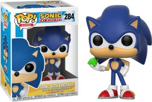 Figurka Sonic POP! Sonic with Emerald