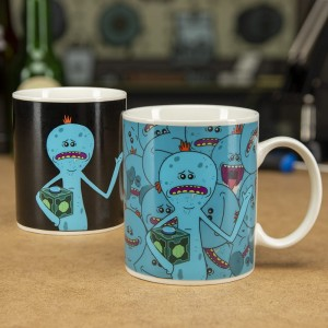 Kubek Rick and Morty Mr. Meeseeks termoaktywny
