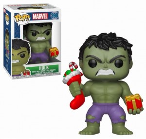 Figurka Marvel POP! Holiday Hulk
