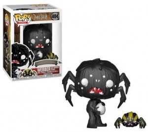 Figurka Don't Starve POP! Webber & Spider
