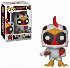 Figurka Deadpool POP! Chicken Deadpool Exclusive