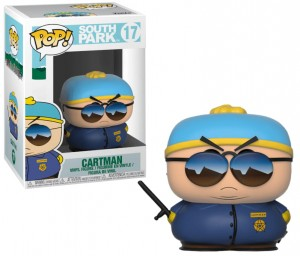 Figurka South Park POP! Cartman Police