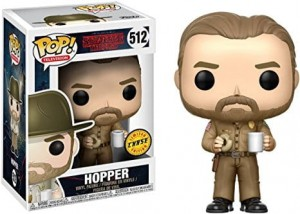 Figurka Stranger Things POP! Hopper CHASE Limited Edition