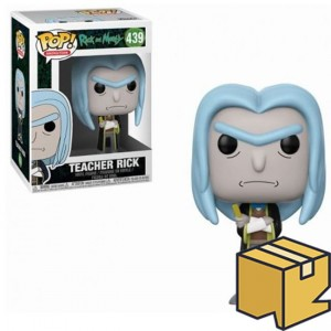 Figurka Rick and Morty POP! Teacher Rick *