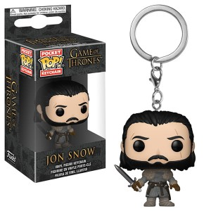Brelok Gra o Tron POP! Jon Snow Beyond The Wall