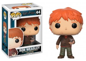 Figurka Harry Potter POP! Ron Weasley i Parszywek