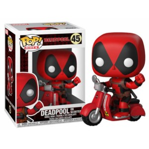Figurka Deadpool POP! Deadpool on Scooter