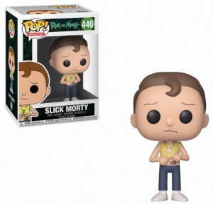 Figurka Rick and Morty POP! Slick Morty