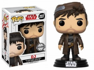 Figurka Star Wars Last Jedi POP! DJ Exclusive
