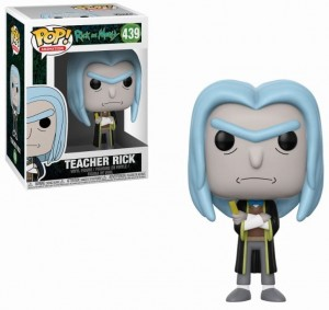 Figurka Rick and Morty POP! Teacher Rick