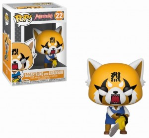 Figurka Aggretsuko POP! Retsuko with Chainsaw