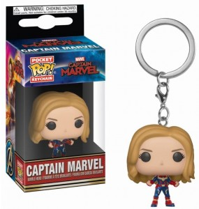 Brelok Captain Marvel Funko POP! Kapitan Marvel