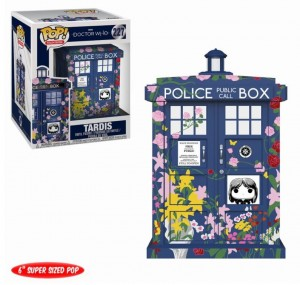 Figurka Doctor Who POP! Tardis Clara Memorial 15 cm