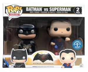 Figurka DC Comics POP! Batman vs Superman Metallic 2-pack