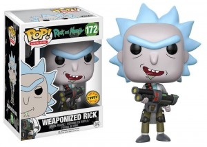 Figurka Rick and Morty POP! Weaponized Rick CHASE Limited