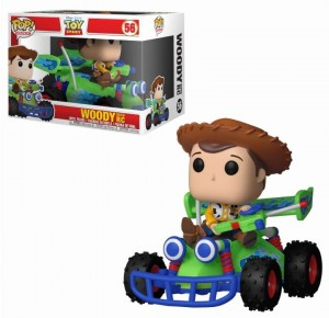 Figurka Toy Story POP! Rides Woody with RC