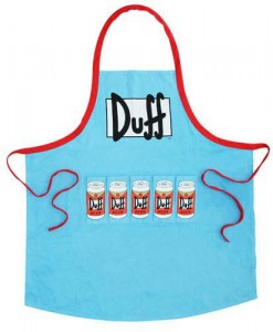 Fartuch Simpsons Duff Beer