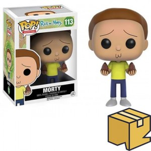 Figurka Rick and Morty POP! Morty *