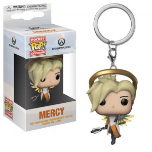 Brelok Overwatch POP! Mercy