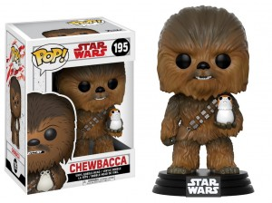 Figurka Star Wars Last Jedi POP! Chewbacca with Porg