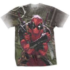 Koszulka Marvel Deadpool Cash