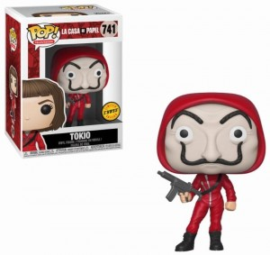 Figurka Money Heist POP! Tokio Mask CHASE
