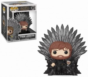 Figurka Gra o Tron POP! Tyrion Iron Throne