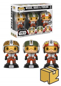 Figurki Star Wars POP! 3-pack Biggs Wedge Porkins Exclusive *