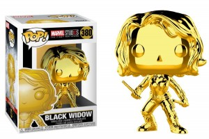Figurka Marvel Studios 10 POP! Black Widow Chrome