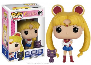 Figurka Sailor Moon POP! Sailor Moon & Luna