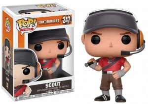 Figurka Team Fortress 2 POP! Scout