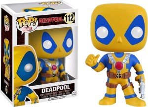 Figurka Deadpool Yellow POP! Exclusive