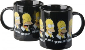 Kubek Simpsons Homer Normal Week