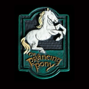 Magnes Lord Of The Rings Prancing Pony